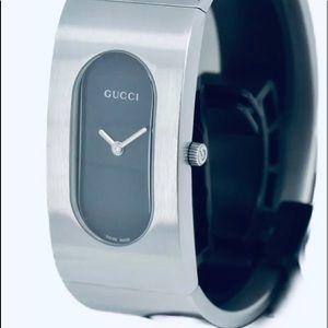Gucci Cuff Bangle Quartz Watch